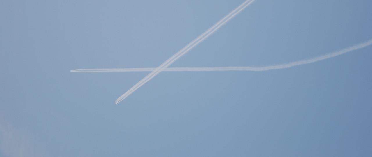 Croisement à haute altitude